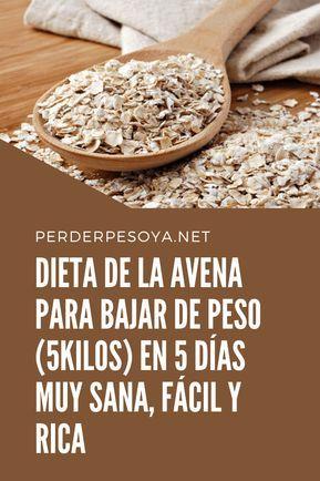 Esta Dieta De La Avena No Solo Te Va Hacer Bajar De Peso También Va Ayudar A Desintoxicar El Cuerpo Y A Su Vez Reducir El Colesterol Dieta De La Avena
