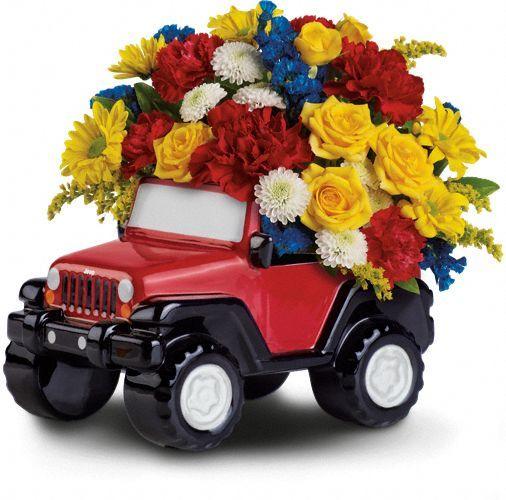 Teleflora Jeep Flowers: