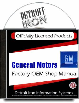 #Pontiac Factory Service Manuals 1941-1972 on CD