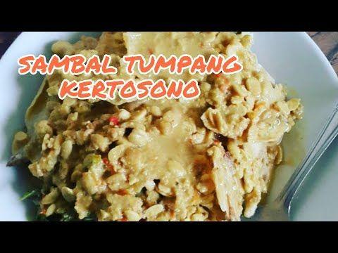 Resep Sambal Tumpang Kertosono Youtube Resep Makanan Resep Rebusan