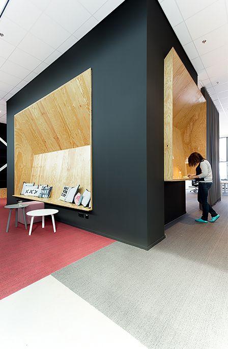 In het voorjaar van 2014 werd het interieur van het hoofdkantoor grondig gerenoveerd met als resultaat een open kantoorruimte. Insuite was de architect bij het ontwerp en de realisatie van het nieuwe kantoor voor Saltro. Alle materialen en kleuren zijn zeer nauwkeurig en toch verrassend op elkaar afgestemd. De Studio 2 Duo en CHTH werkplekken zijn fraai in dit interieur toegepast.