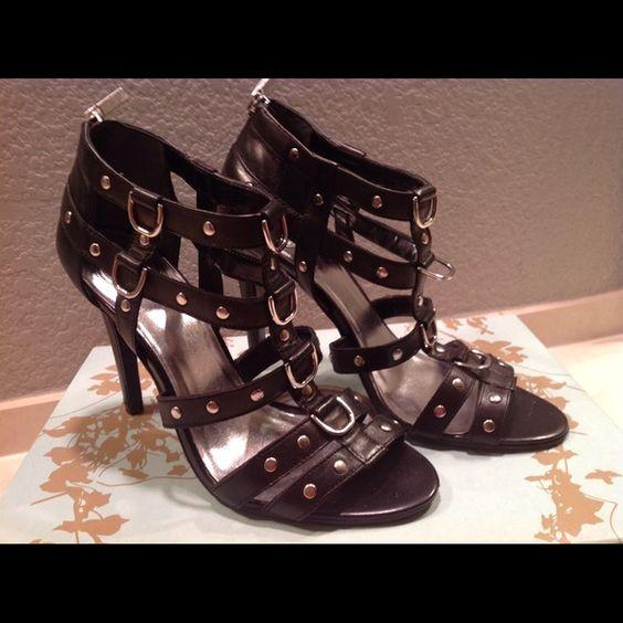 JESSICA SIMPSON BLACK HEELS SEXY SEXY JESSICA SIMPSON BLACK HIGH HEELS 7 JESSICA SIMPSON Shoes Heels