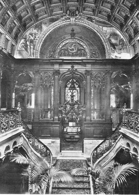 Stairway of the Charles M. Schwab mansion, 1901