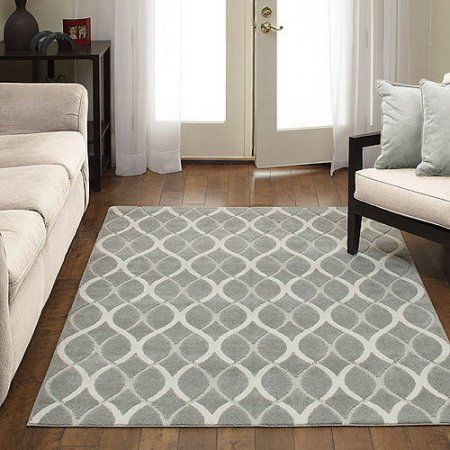 Better Homes and Gardens Brisbane Textured Area Rugs or Runner, Gray