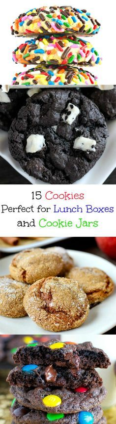 Favorite Cookies to Put in Lunch Boxes and Fill Your Cookie Jar