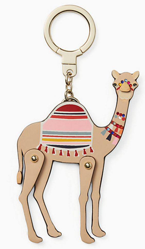 Such a cute camel keychain