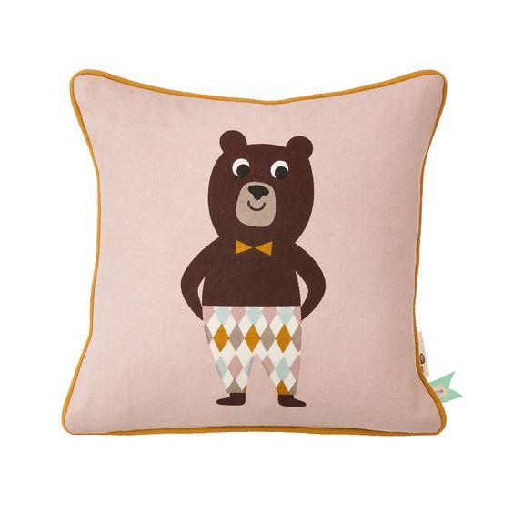 ferm LIVING Bear Kissen 30x30 cm