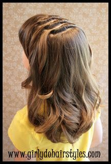 Girly Dos By Jenn: Long Knot Hairstyle