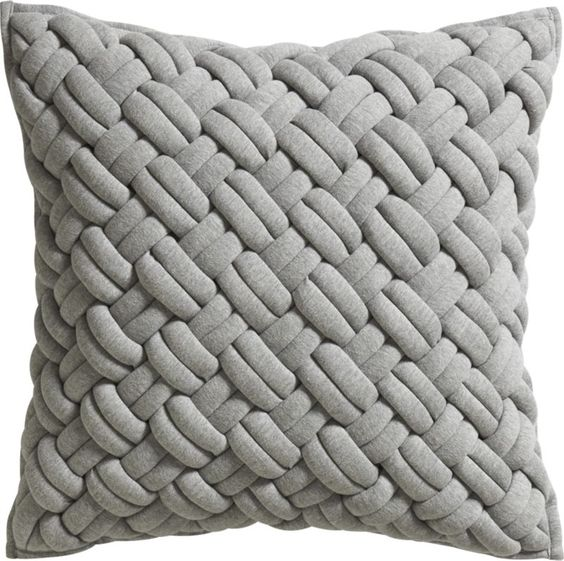 "jersey interknit 20"" pillow  