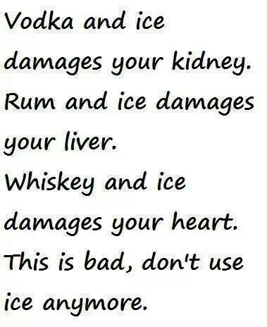 Don't use ice anymore :)