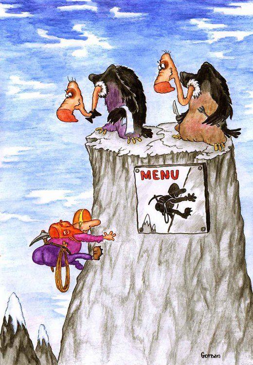 Original Jpg 520 750 Montanas Dibujo Caricaturas Escalada En Roca
