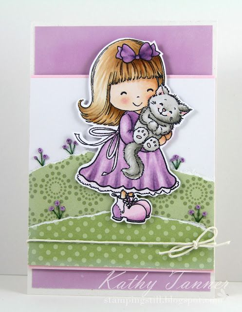 Sewing on a Card Tutorial with Special Guest Kathy Tanner | Your Next Stamp