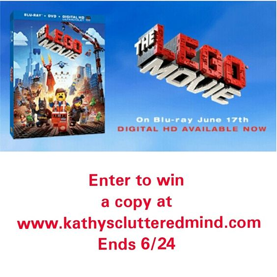 Enter to win a copy of The Lego Movie