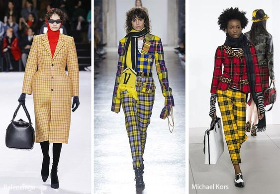 Fall/ Winter 2018-2019 Print Trends: Tartan & Plaid Patterns #plaid #tartan #prints #trends #fashion