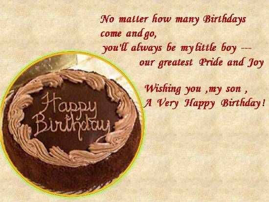 Image result for a christian birthday wish for a son