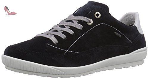 Legero 0-00818 Tanaro, Chaussures de ville à lacets pour femme, schuhgröße_1:37.5 EU;Farbe:bleu