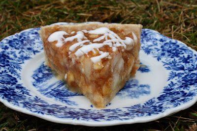 Deep dish apple pear tart