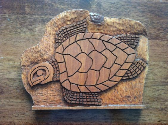A wood carving using dremel moto tool woodworking