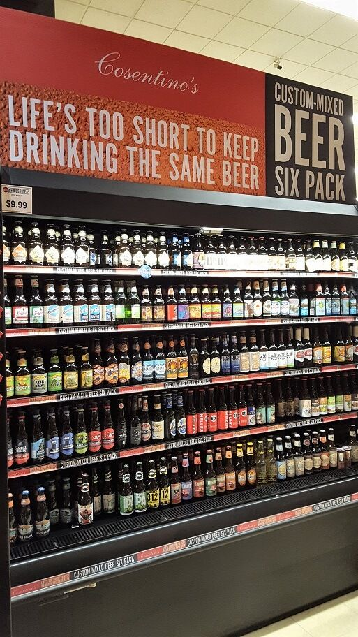 Craft Beer Selection At Cosentino S Market In Downtown Kansas City Mo Photo By Sheila Scarborough Beer House Beer Store Beer Shop