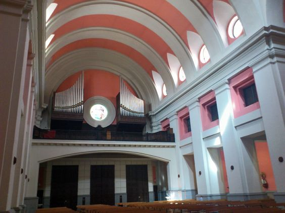 Coro Iglesia De San Antonio De Cuatro Caminos Calle Bravo Murillo 150 Madrid Ferry Building San Francisco Ferry Building Madrid