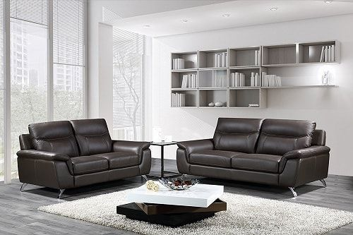 10 Best Selling Genuine Leather Living Room Sets From Amazon When We Are Talking About Impr Sofa And Loveseat Set Leather Sofa And Loveseat Black Living Room
