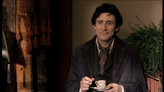 I've always found Gabriel Byrne oddly hot.  And now I kind of find Professor Bhaer to be oddly hot.