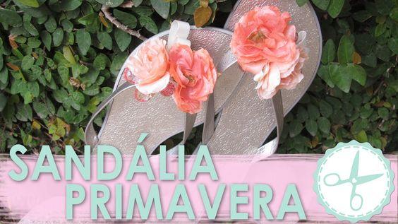 DIY: Rasteira com Flores │Sem Costura - wFashionista