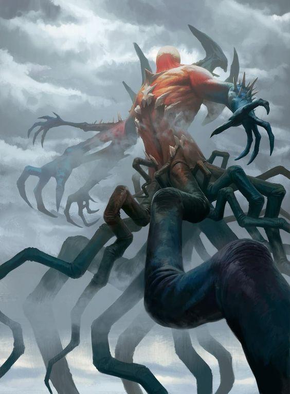Eldrazi Devastator - Battle for Zendikar MtG Art