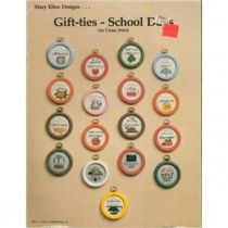 30+ Gift Tag Cross Stitch Patterns Months School Days Phrases +