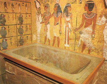 King tuts tomb speech