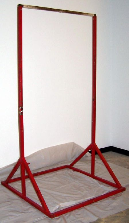 D i y marine recruiter portable pull up bar advanced for Homemade pull up bar plans