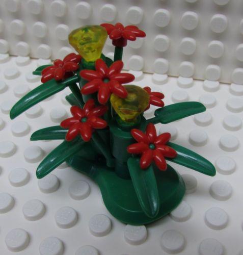 Lego-Plant-Flowers-Daisy-Bush-Red-Friends-New