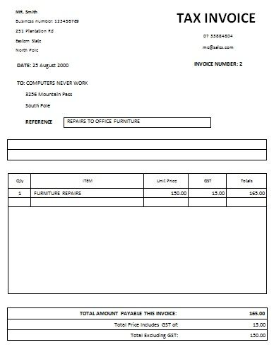22 best Austrialian Tax Invoice Templates images on Pinterest - resume template australia word