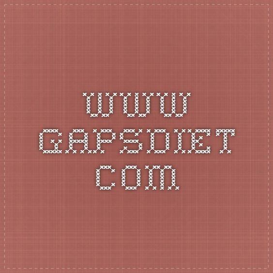 www.gapsdiet.com