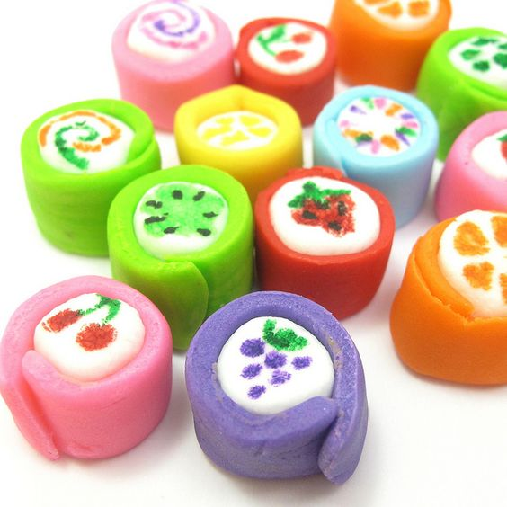 """Japanese candy"" marshmallows 2 by thedecoratedcookie, via Flickr"