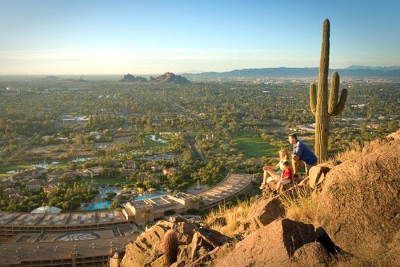 View From Camelback Mountain...looking down on The Phoenician