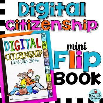 Digital Citizenship Citizenship And Flip Books On Pinterest