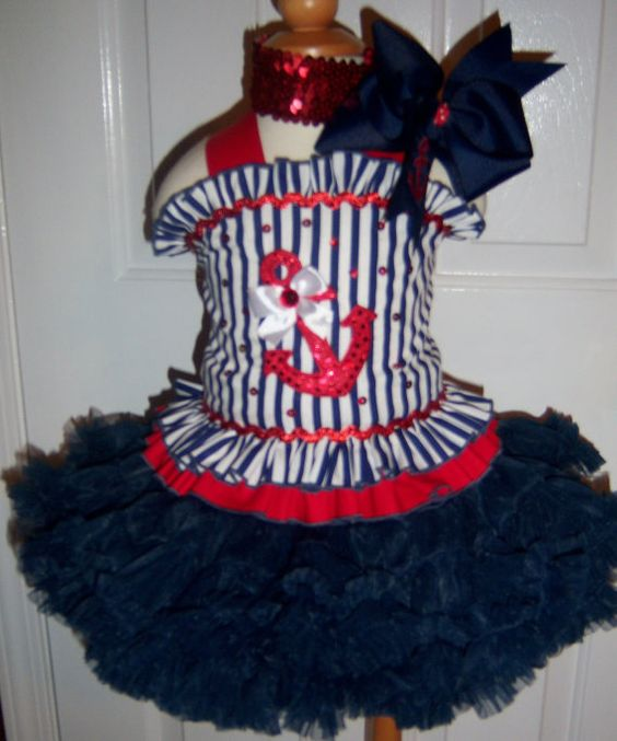 Pageant Wear Outfit Of Choice Nautical Nautical Outfit