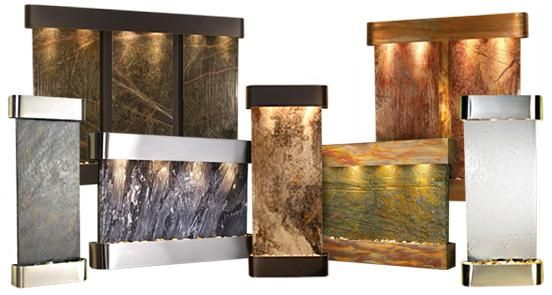 Whispering Creek Wall Fountain Wall Fountain Indoor Water Fountains Indoor Fountain