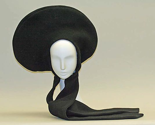 Hat Pierre Cardin (French, born 1922) Date: 1970 Culture: French Medium: wool