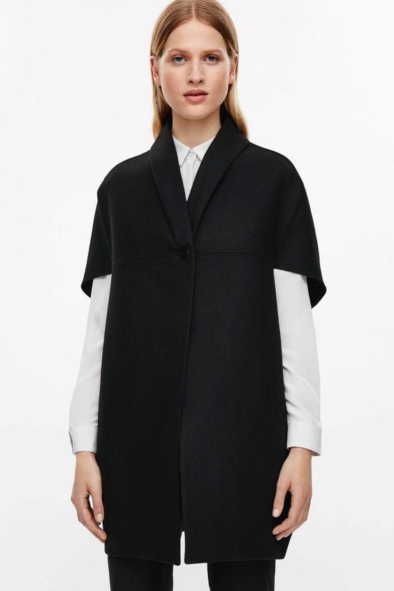 COS   Wool cape