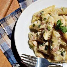 Cremige Penne mit Käse & Zuchini - One Pot Pasta