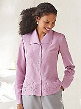 Embroidered Blouse By Koret® | Willow Ridge