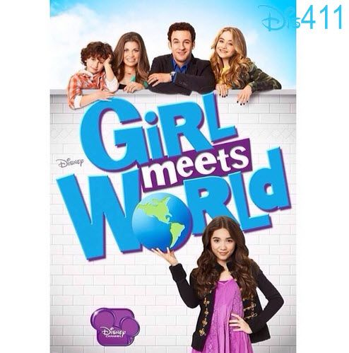 """New """"Girl Meets World"""" Poster April 24, 2014...Yess I love this idea. I love boys meets world I can't wait to see how they continue"""