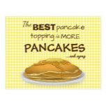 The Best Pancake Topping Postcard  The Best Pancake Topping Postcard  $1.00  by DippyDoodle   More Designs http://bit.ly/2g4mwV2 #zazzle