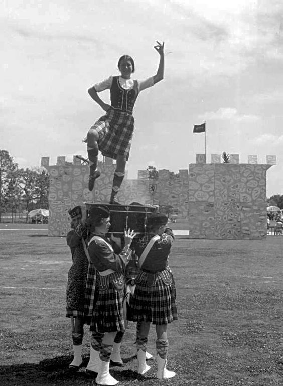 Scottish dancing at the Highland Games - Dunedin, Florida.