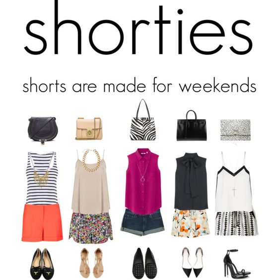 Shorties, created by iam-mrsp on Polyvore