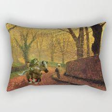 Journey of Zelda Rectangular Pillow