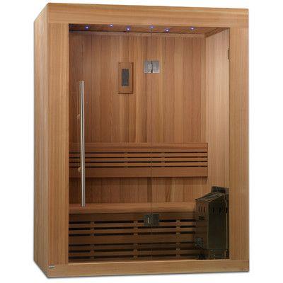Golden Designs 2-3 Person Ceramic FAR infrared Sauna & Reviews | Wayfair