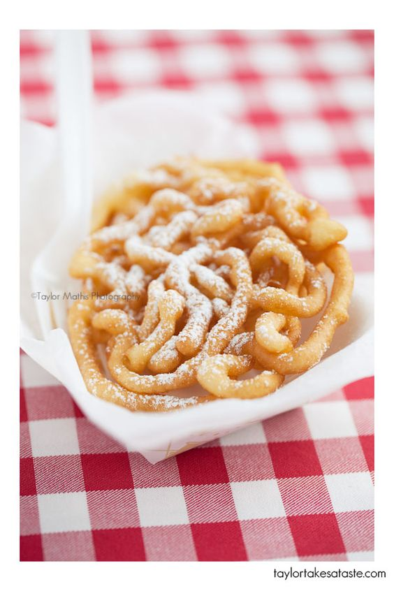 Funnel Cakes, this looks like fun!!